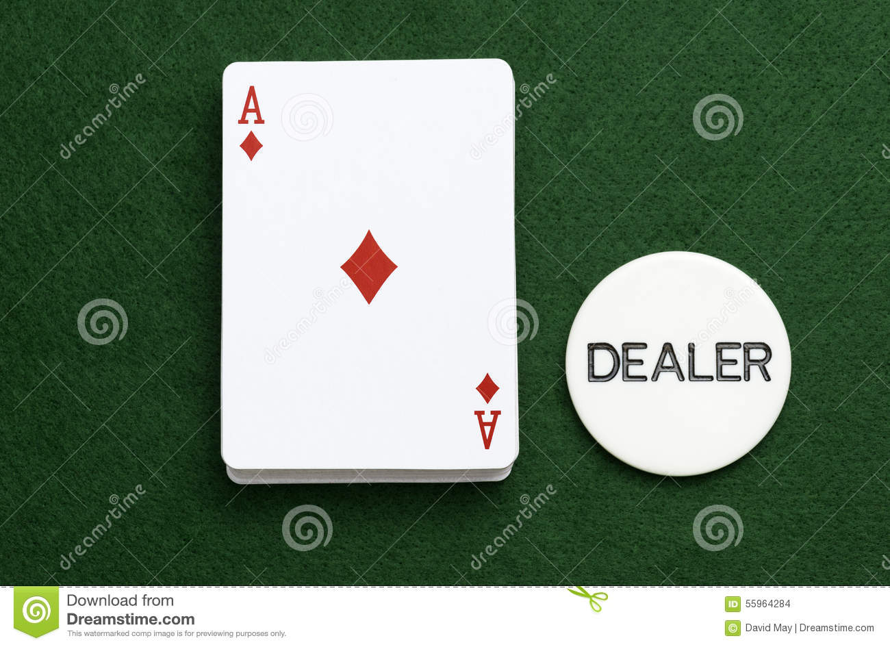 neon green aces cards poker dealers