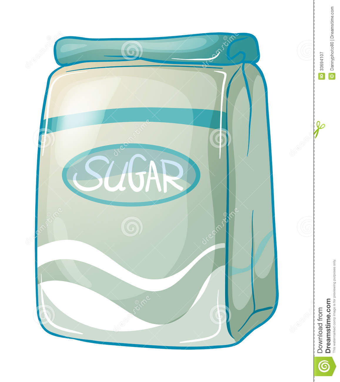 Pack Of Sugar Royalty Free Stock Photography - Image: 33694107