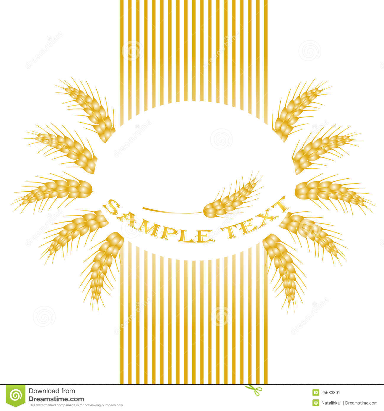 More similar stock images of ` Package desing. Wheat flour `