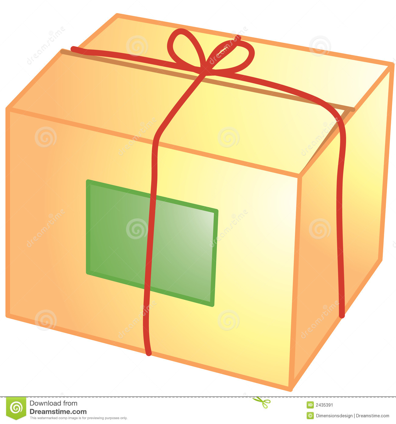 Package Icon Stock Image - Image: 2435391