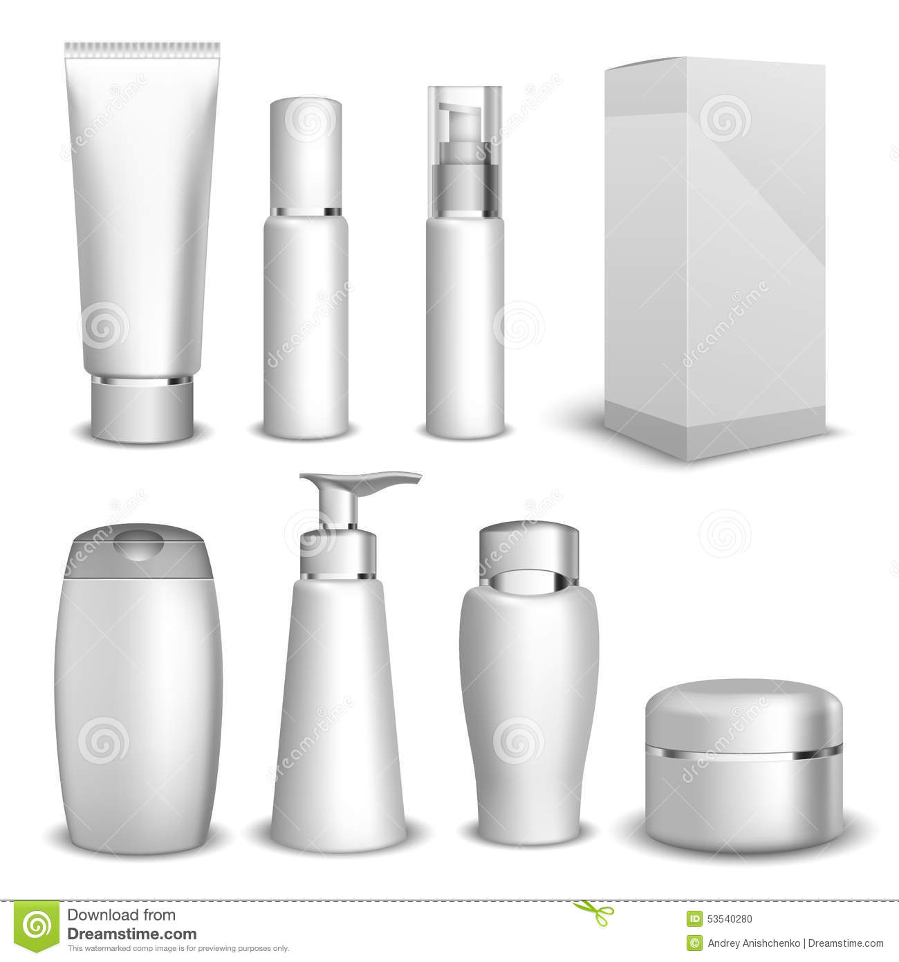 beauty product packaging