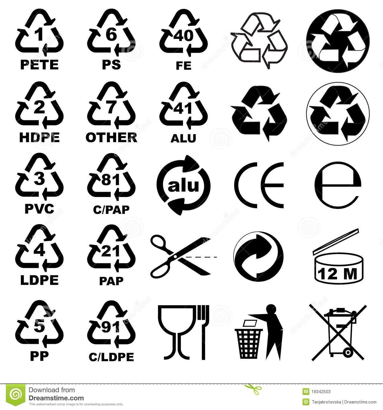 Complete medical packaging symbols stock vector illustration of packaging icons for designers stock photos biocorpaavc Gallery