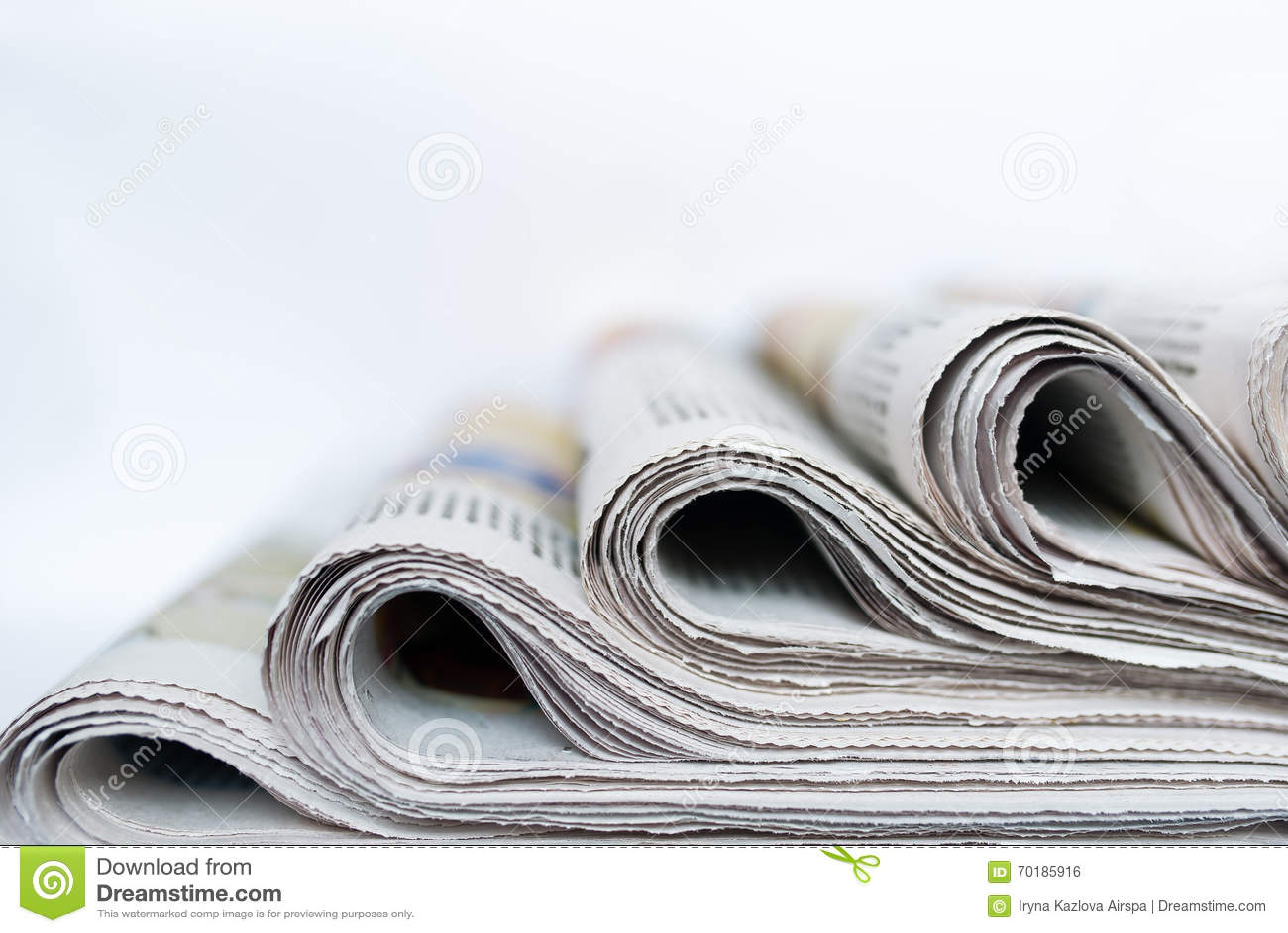 Packar av tidningar