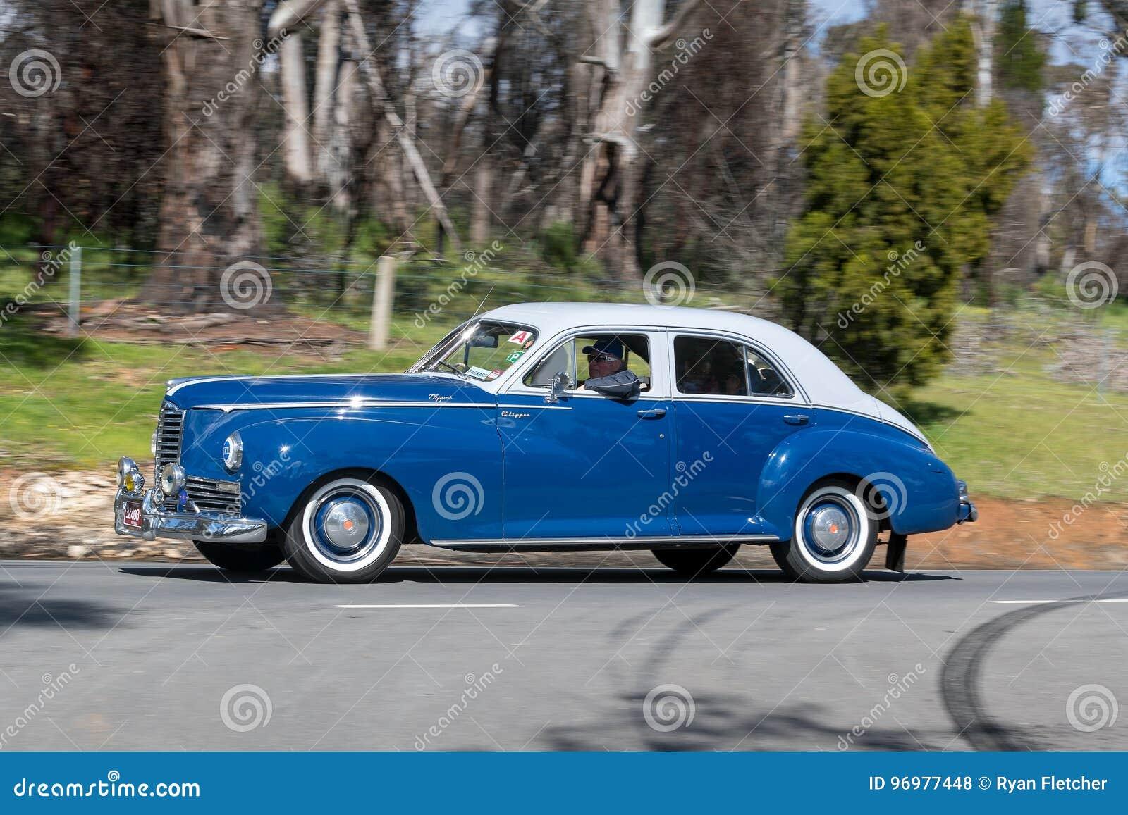 1946 Packard Clipper 6 Sedan Editorial Stock Photo - Image of autos