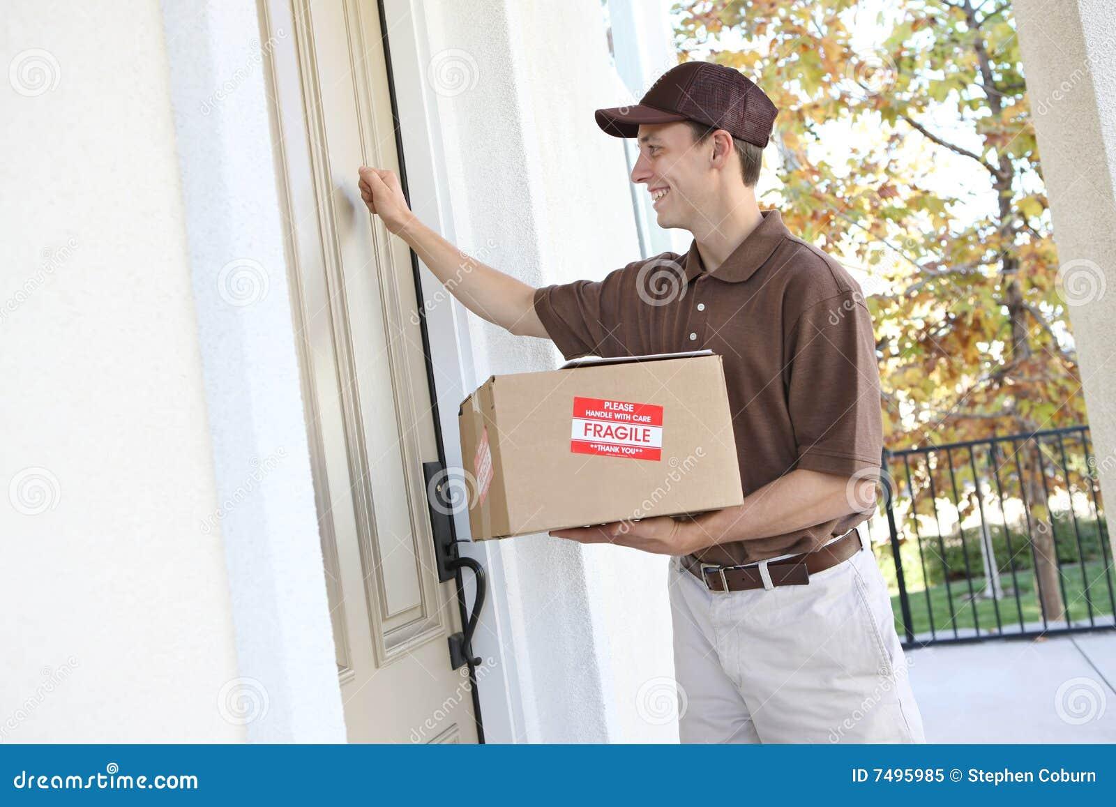 Packe för leveransman