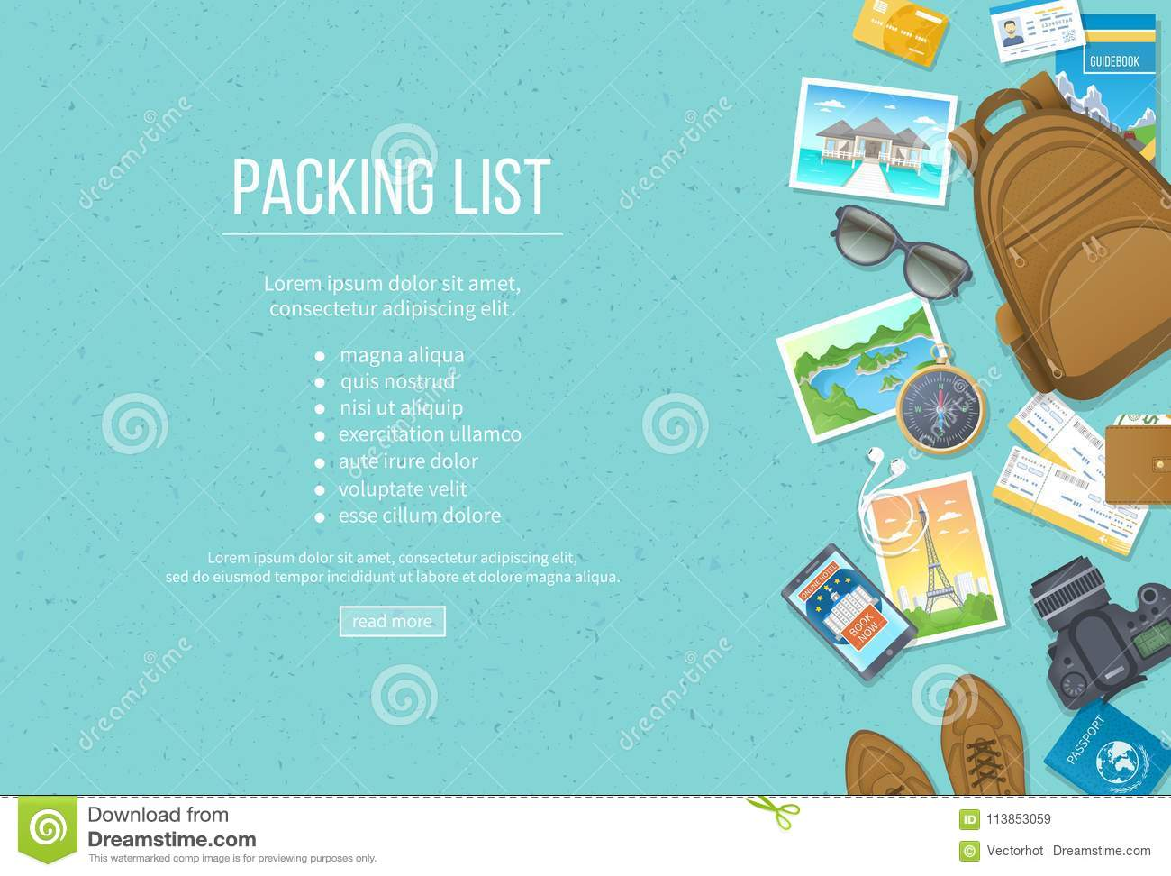 packing list travel planning preparing for vacation travel