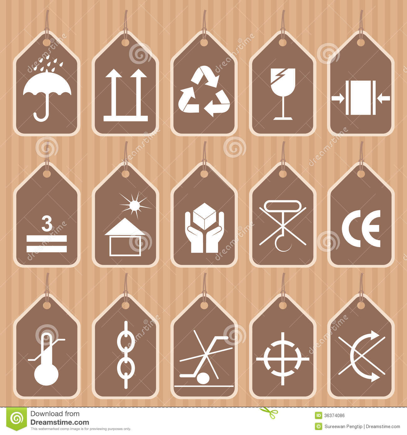 Packing and shipping symbols vector set stock vector royalty free stock photo biocorpaavc Images
