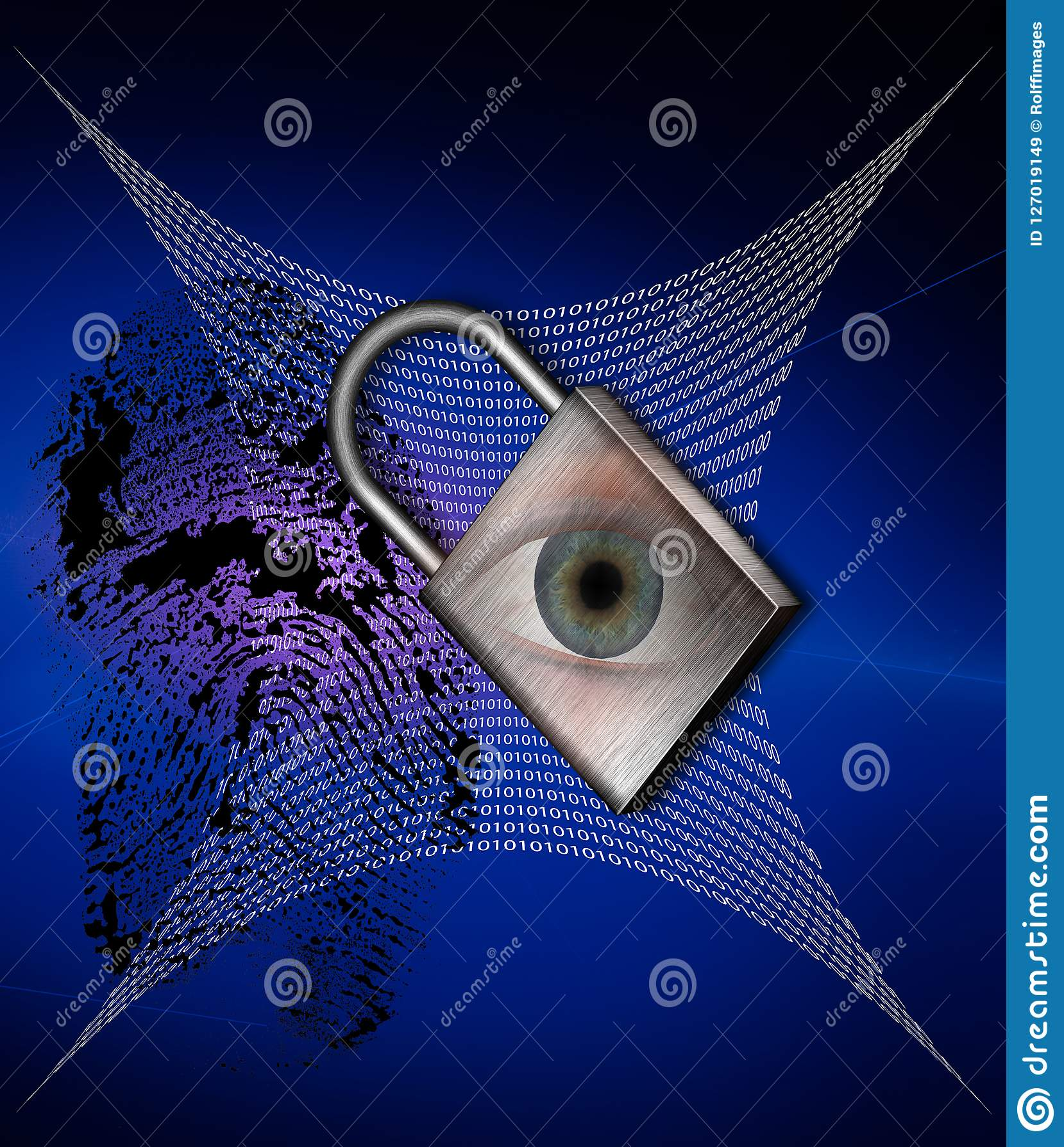 Technology Security Stock Illustration  Illustration Of