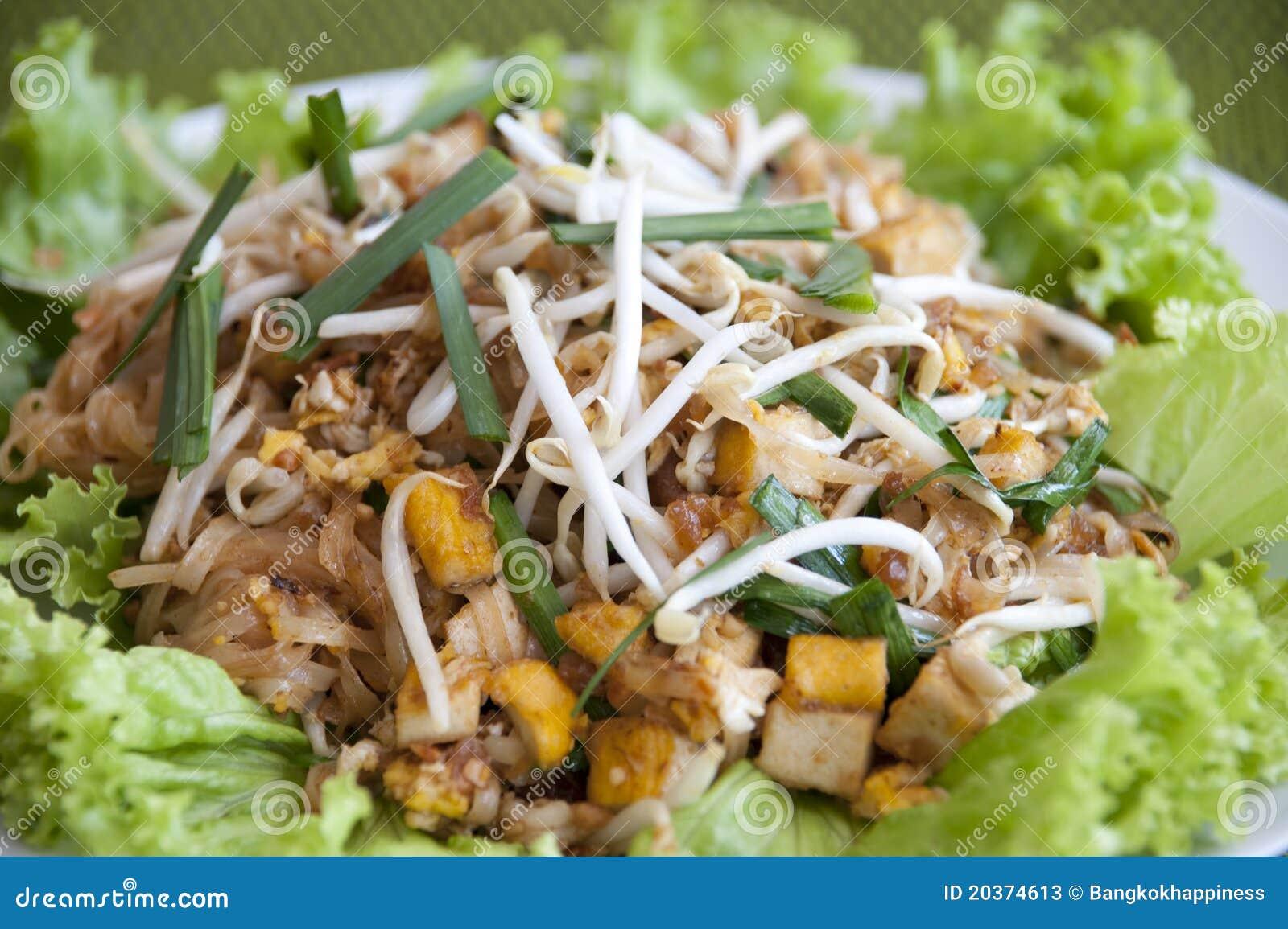 Pad thai, Stir fry noodles Thai food.