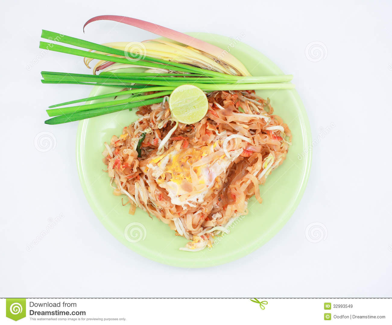 Pad Thai Royalty Free Stock Images - Image: 32993549