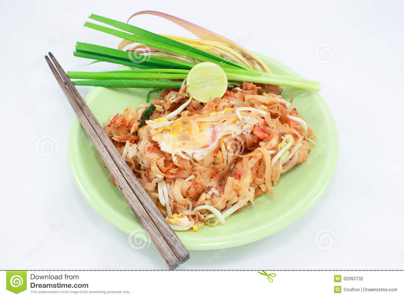 Pad Thai Stock Photography - Image: 32993732