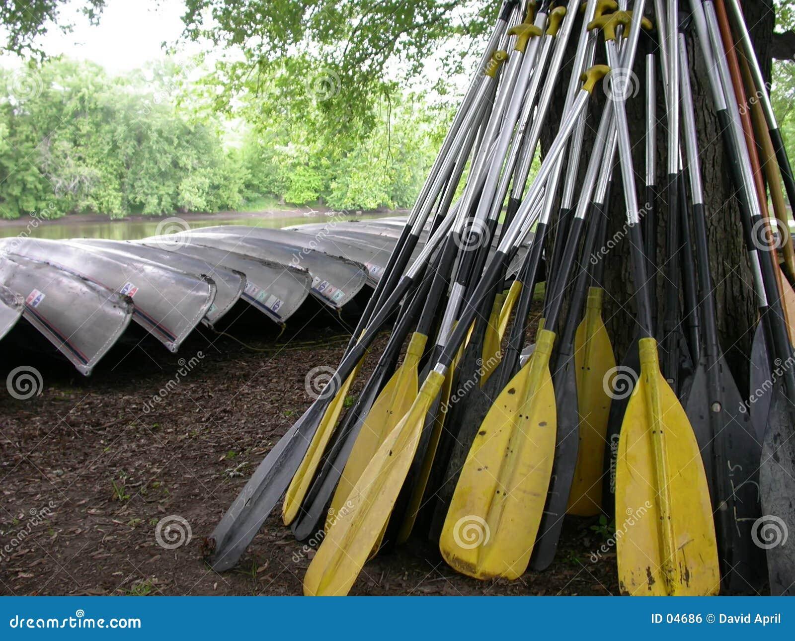 Paddle Pile