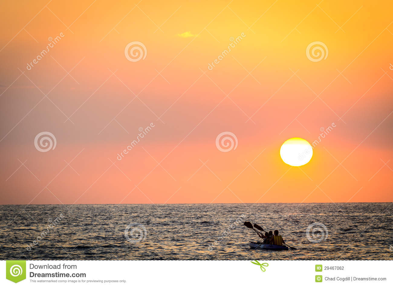Paddle into the Sunset