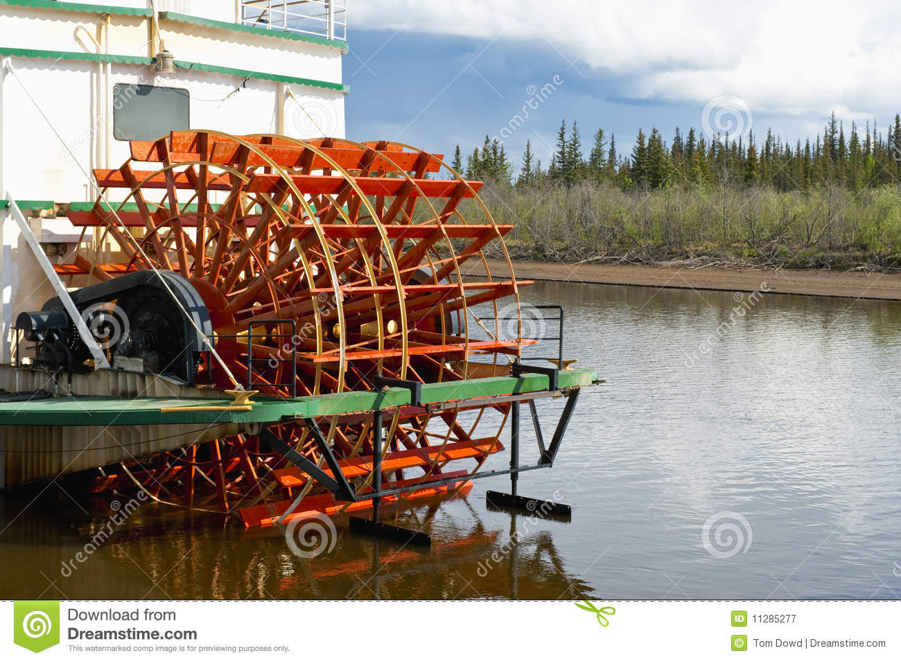Paddle Wheel Boat Royalty Free Stock Photography - Image: 11285277
