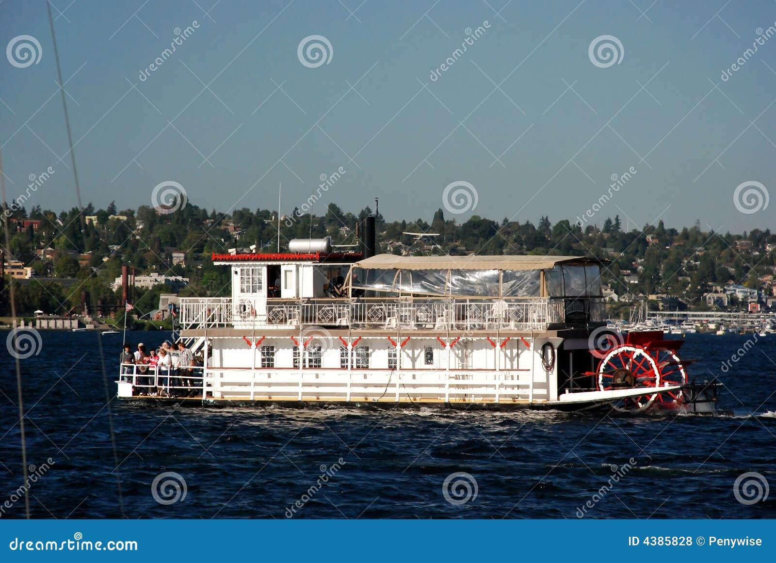 Paddle Wheel Boat Royalty Free Stock Photos - Image: 4385828