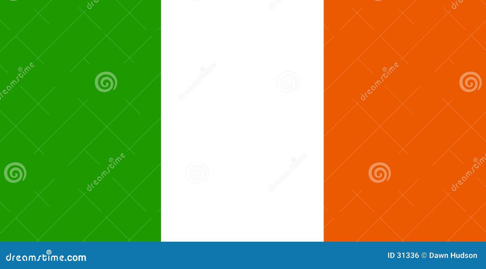 Download Paddy bandery ilustracja wektor. Ilustracja złożonej z irlandia - 31336