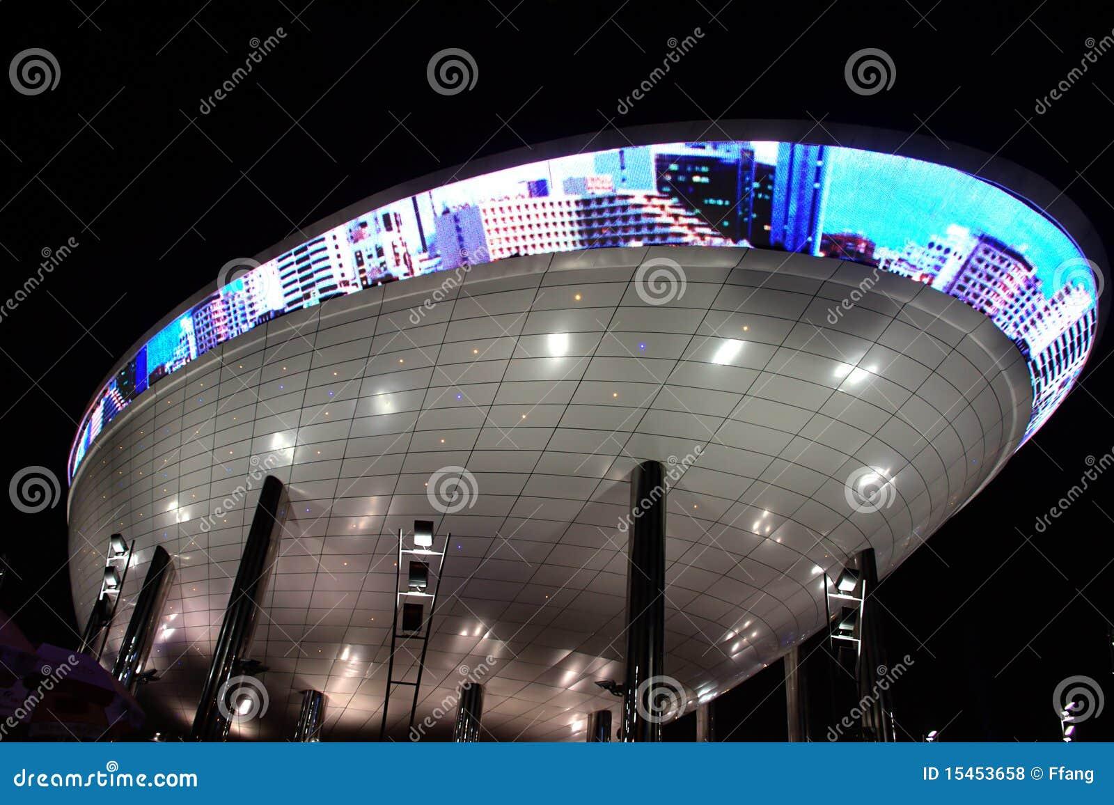 padiglione dell 39 arabia saudita dell 39 expo fotografia stock
