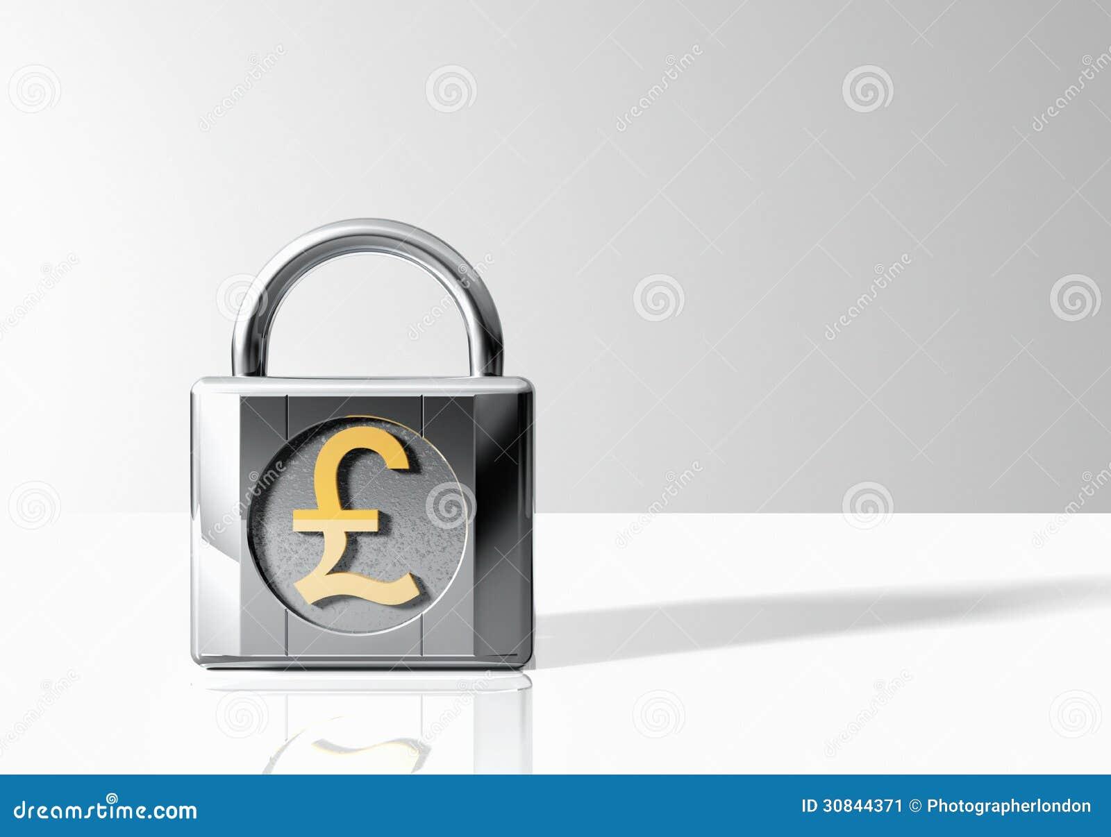 Padlock with british pound symbol stock image image of symbol padlock with british pound symbol biocorpaavc Choice Image