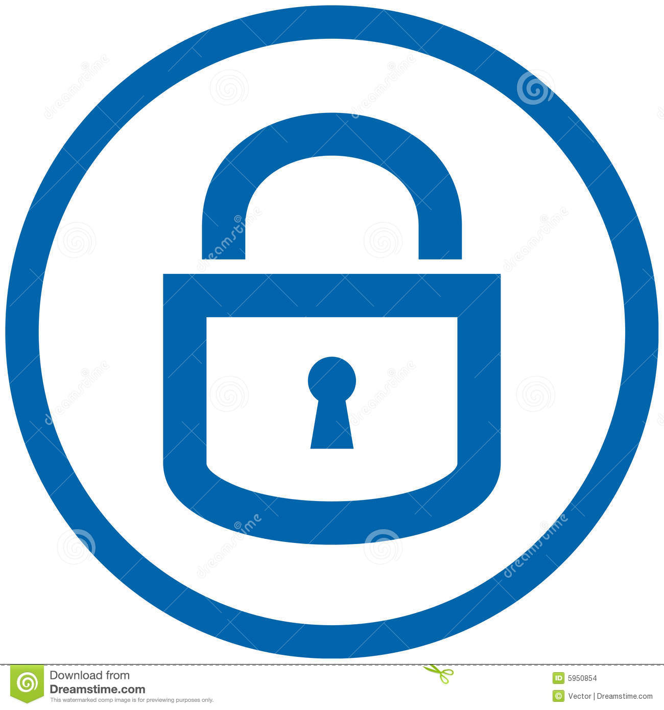 locked lock clip art