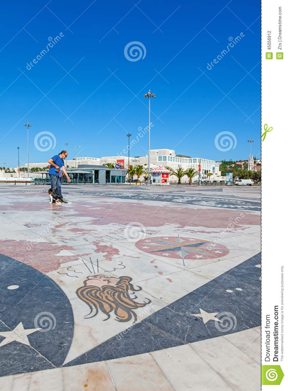 Padrao Dos Descobrimentos, Lisbon Editorial Photography - Image of ...