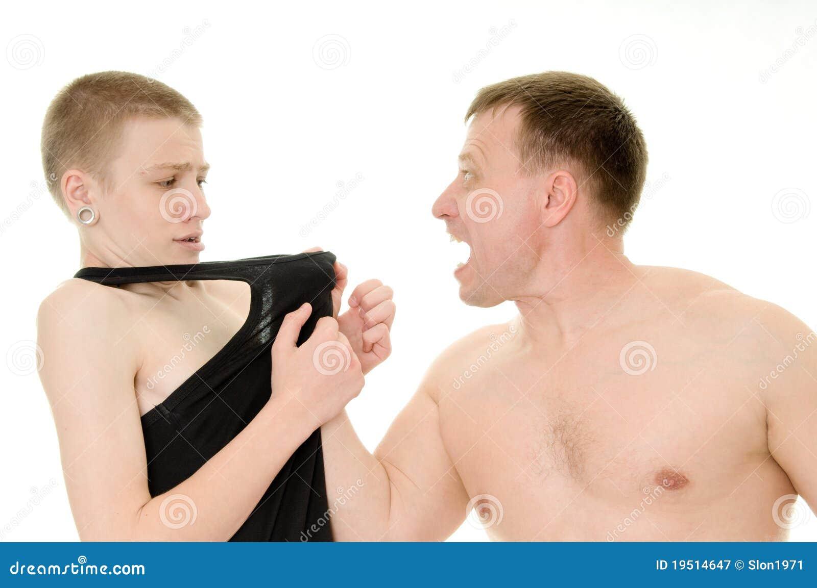 Padre aggressivo