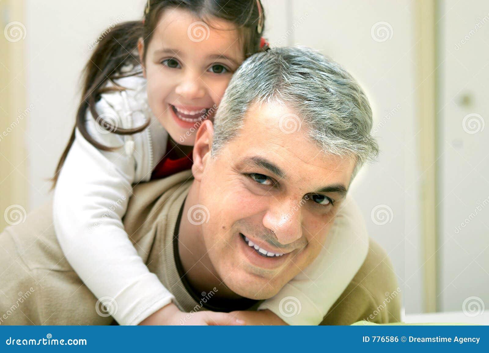 Padre feliz