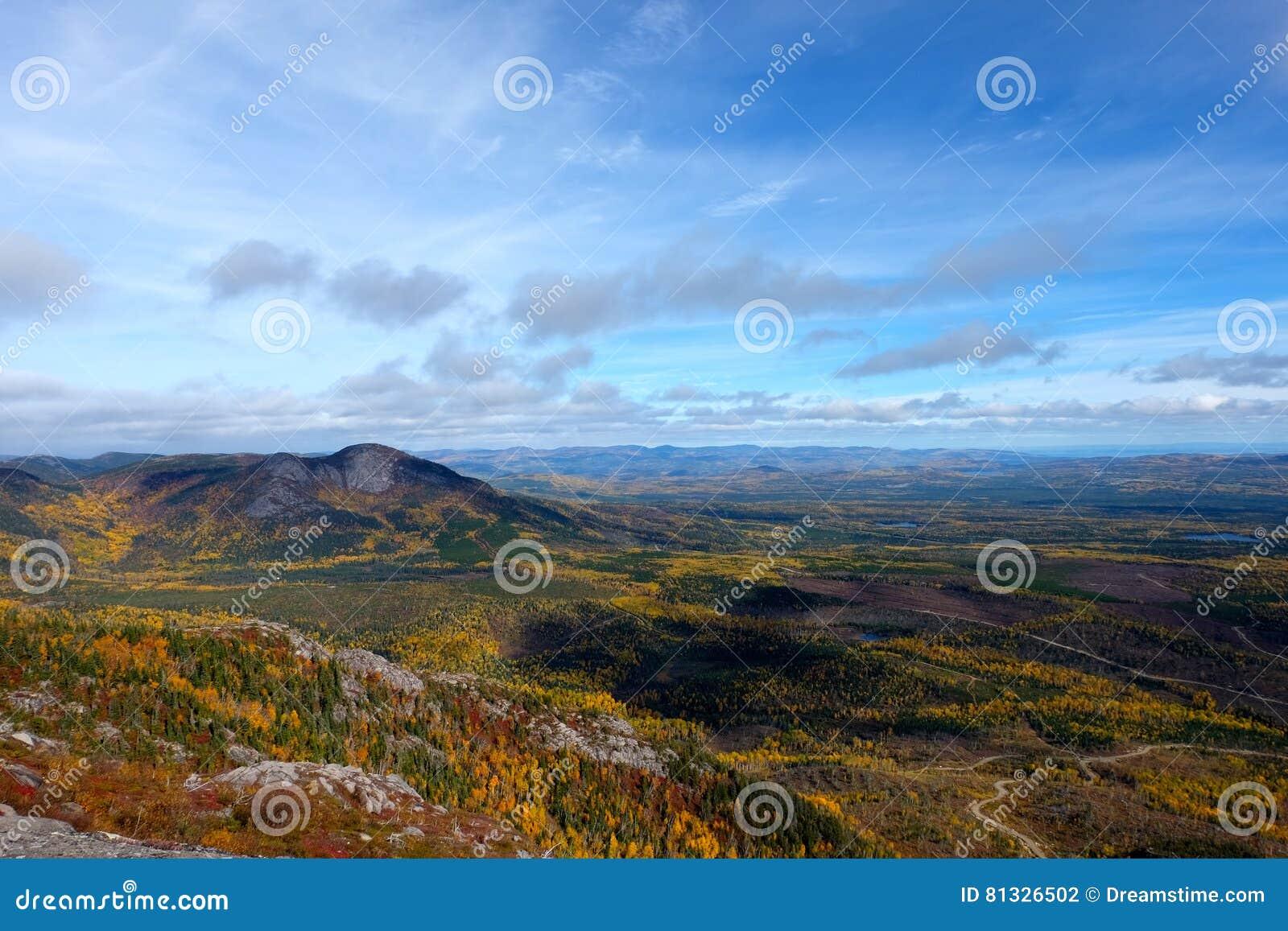 Paesaggi di caduta, Canada
