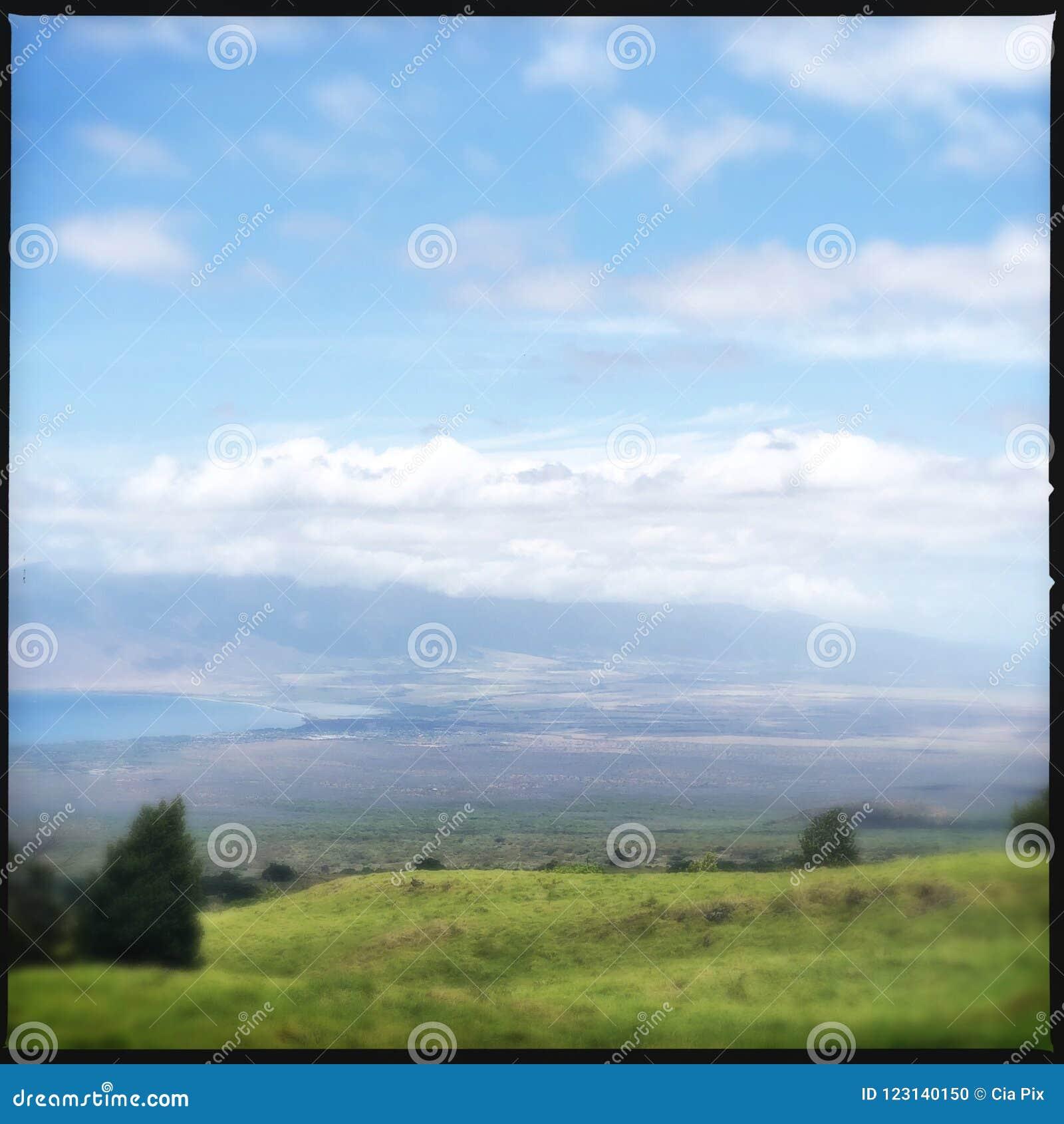 Paesaggio da Kula su Maui