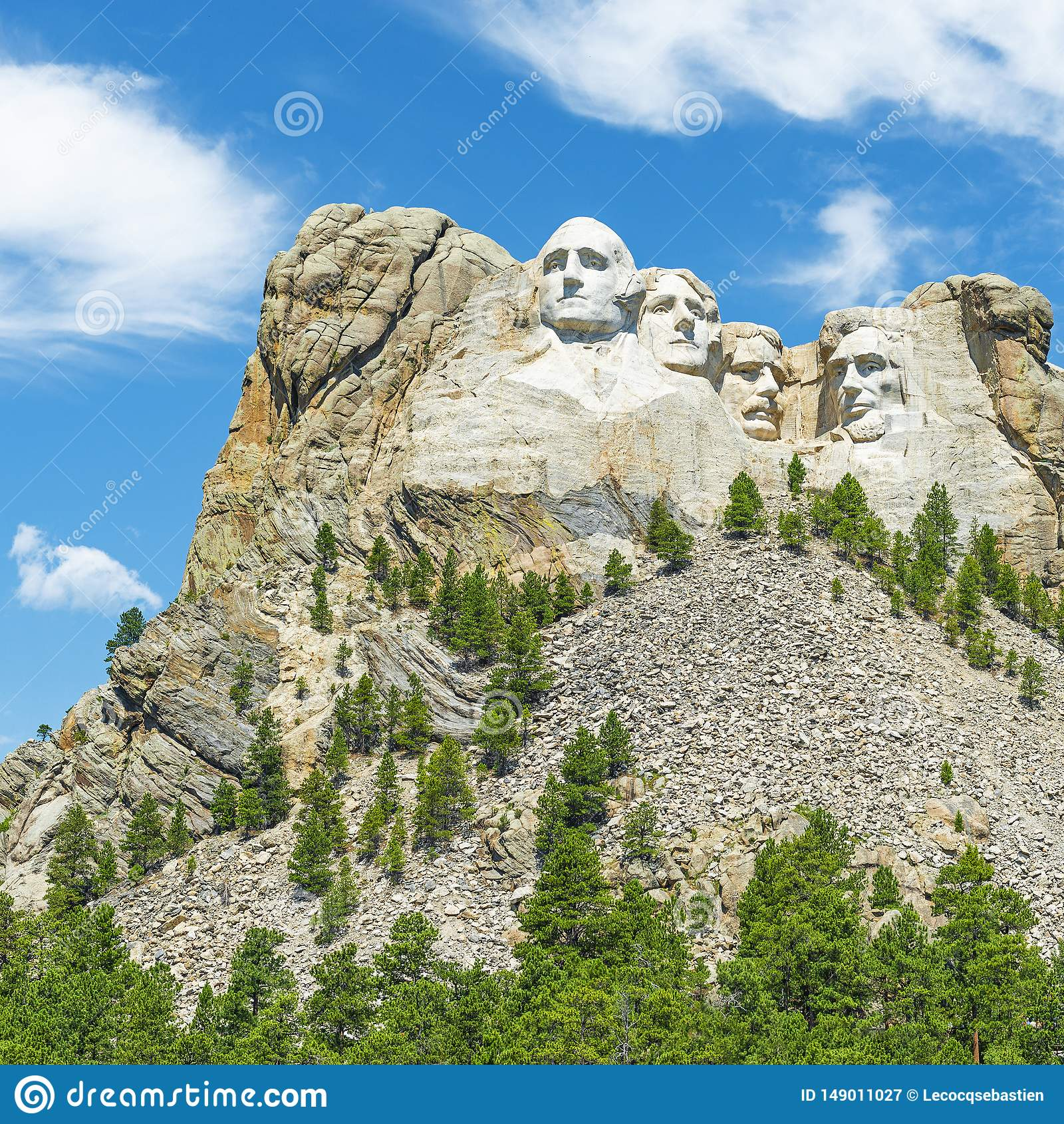Paesaggio del monte Rushmore, Sud Dakota