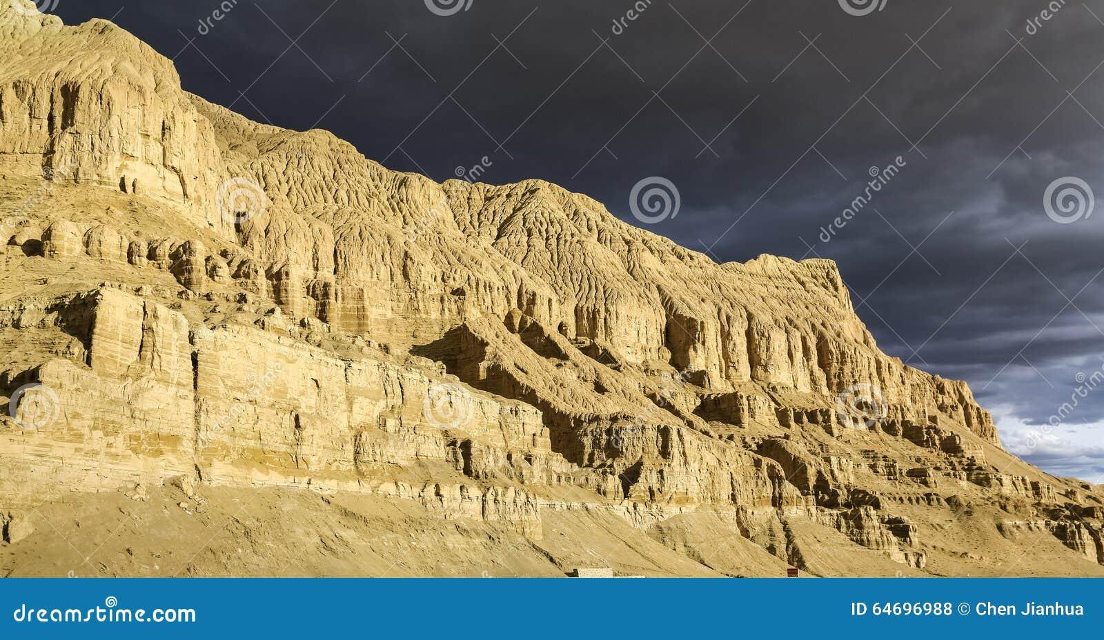 Paesaggio del Tibet