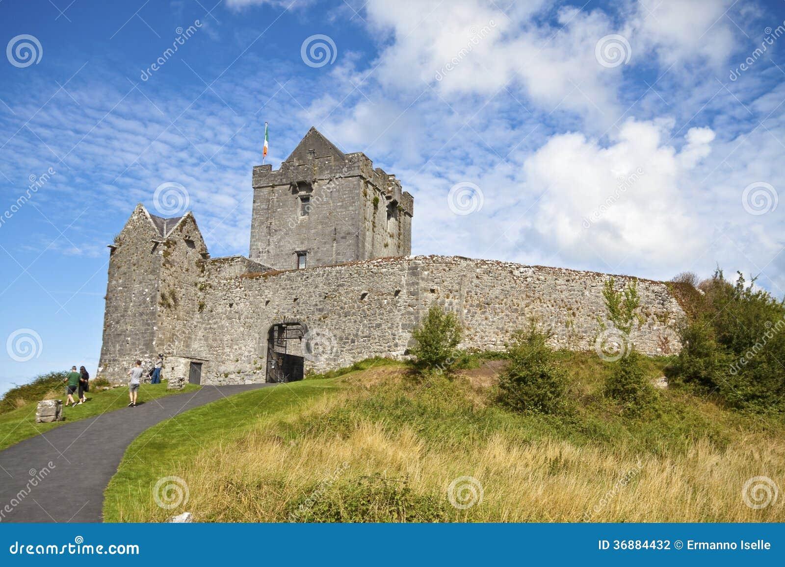 Download Paesaggio dell'Irlanda fotografia editoriale. Immagine di castello - 36884432