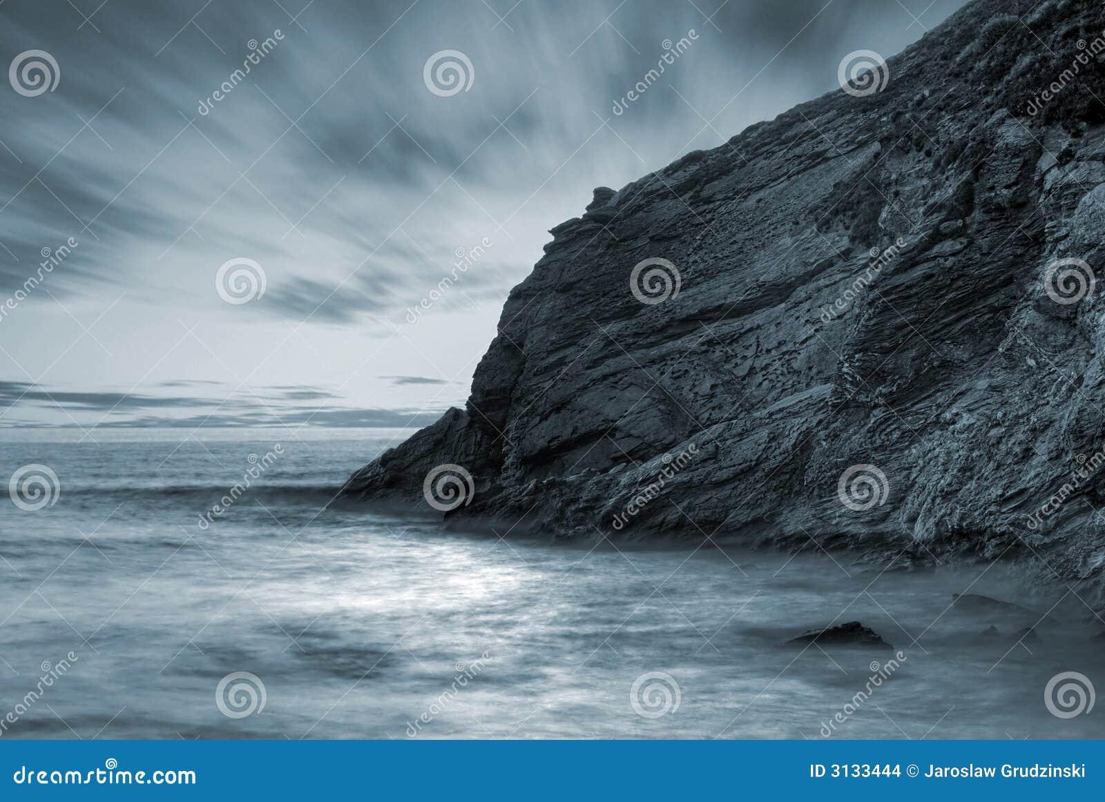 Paesaggio dell oceano