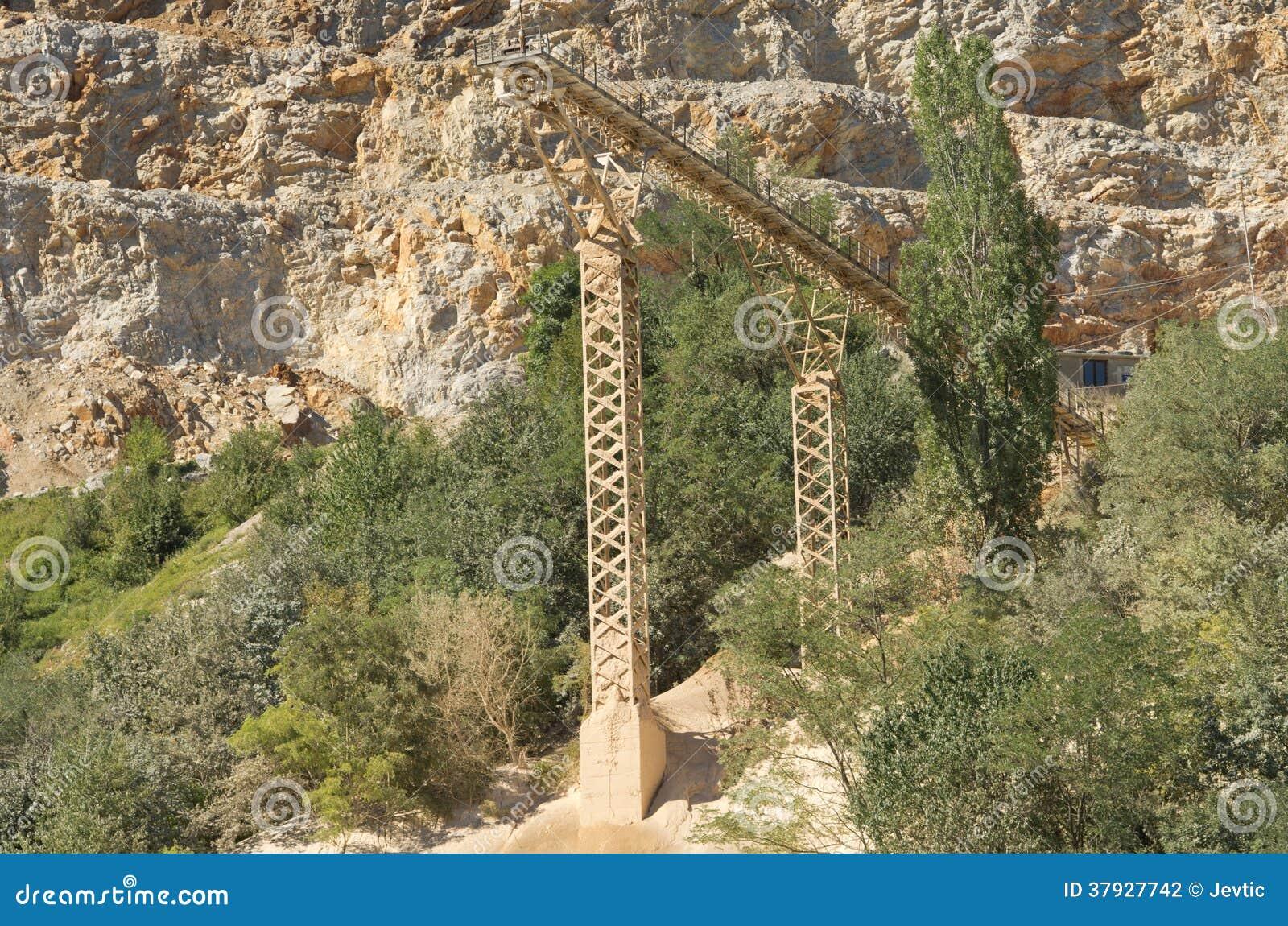 Paesaggio della cava