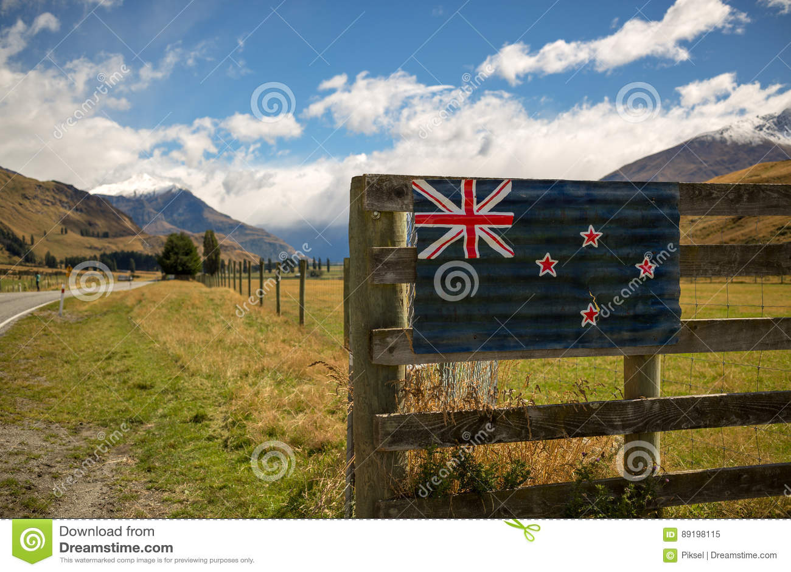 Paesaggio della Nuova Zelanda