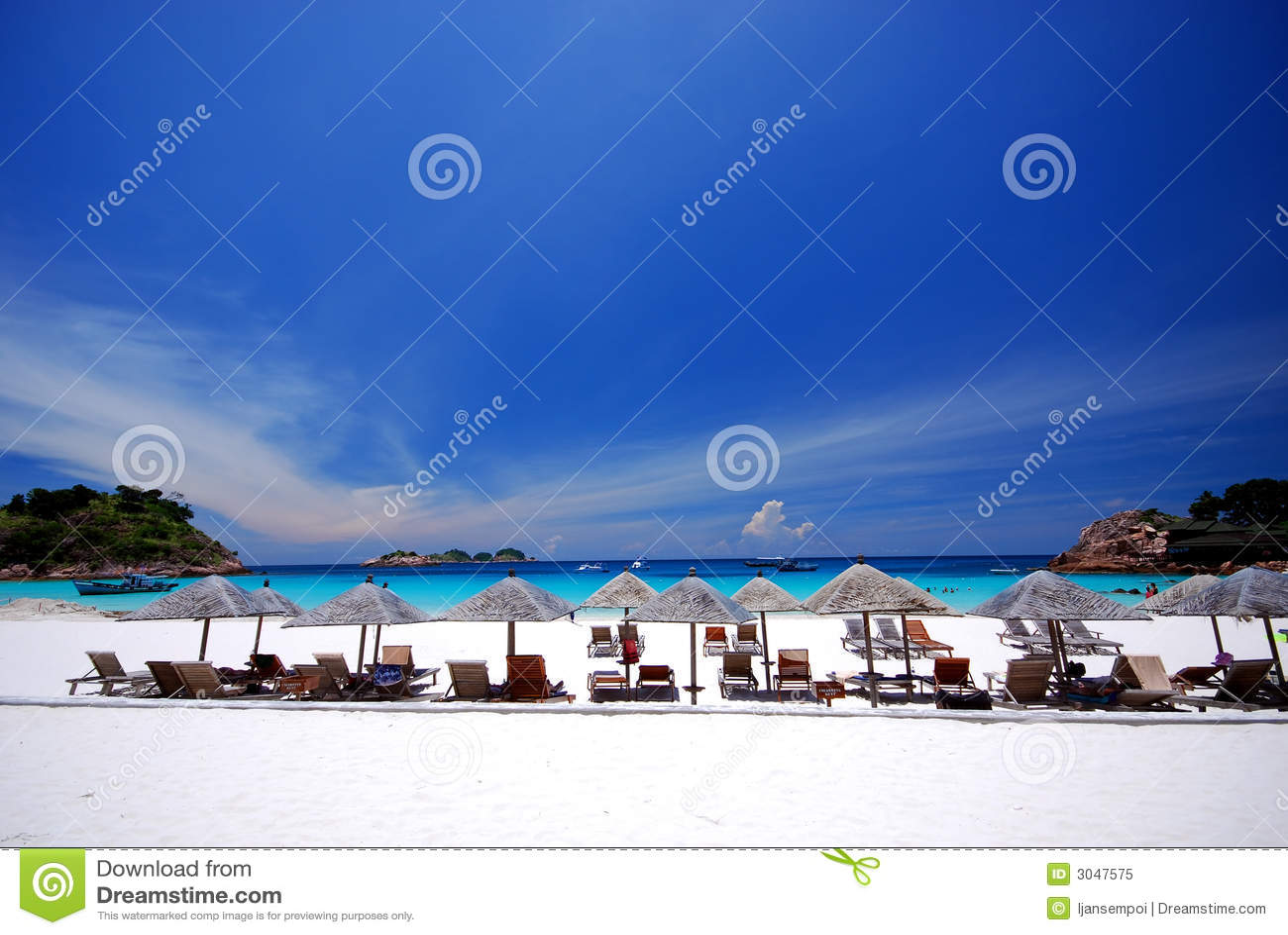 Paesaggio della spiaggia fotografia stock libera da for Planimetrie della cabina della spiaggia