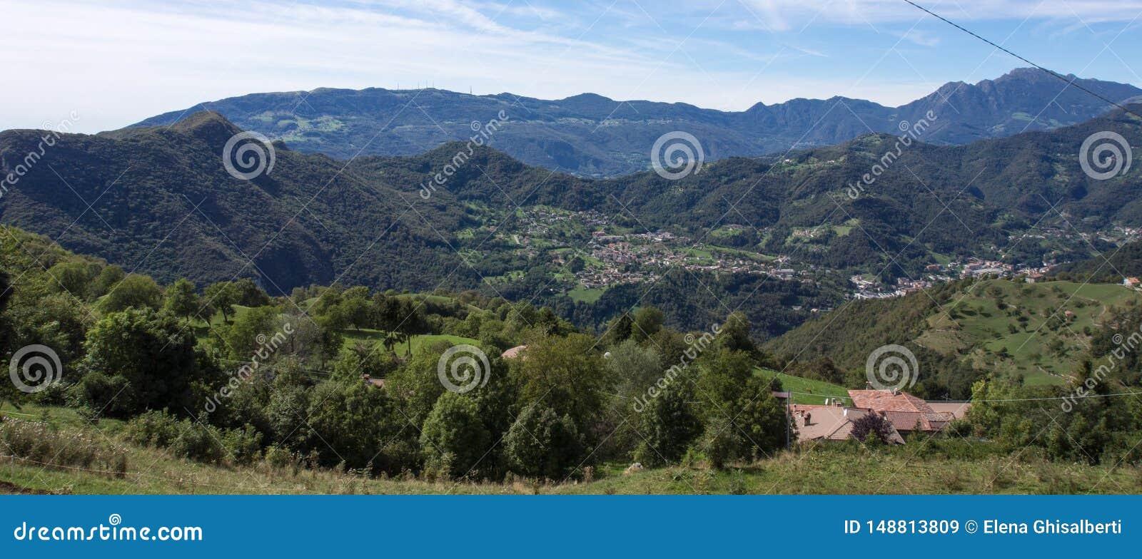 Paesaggio di brembana di Valle