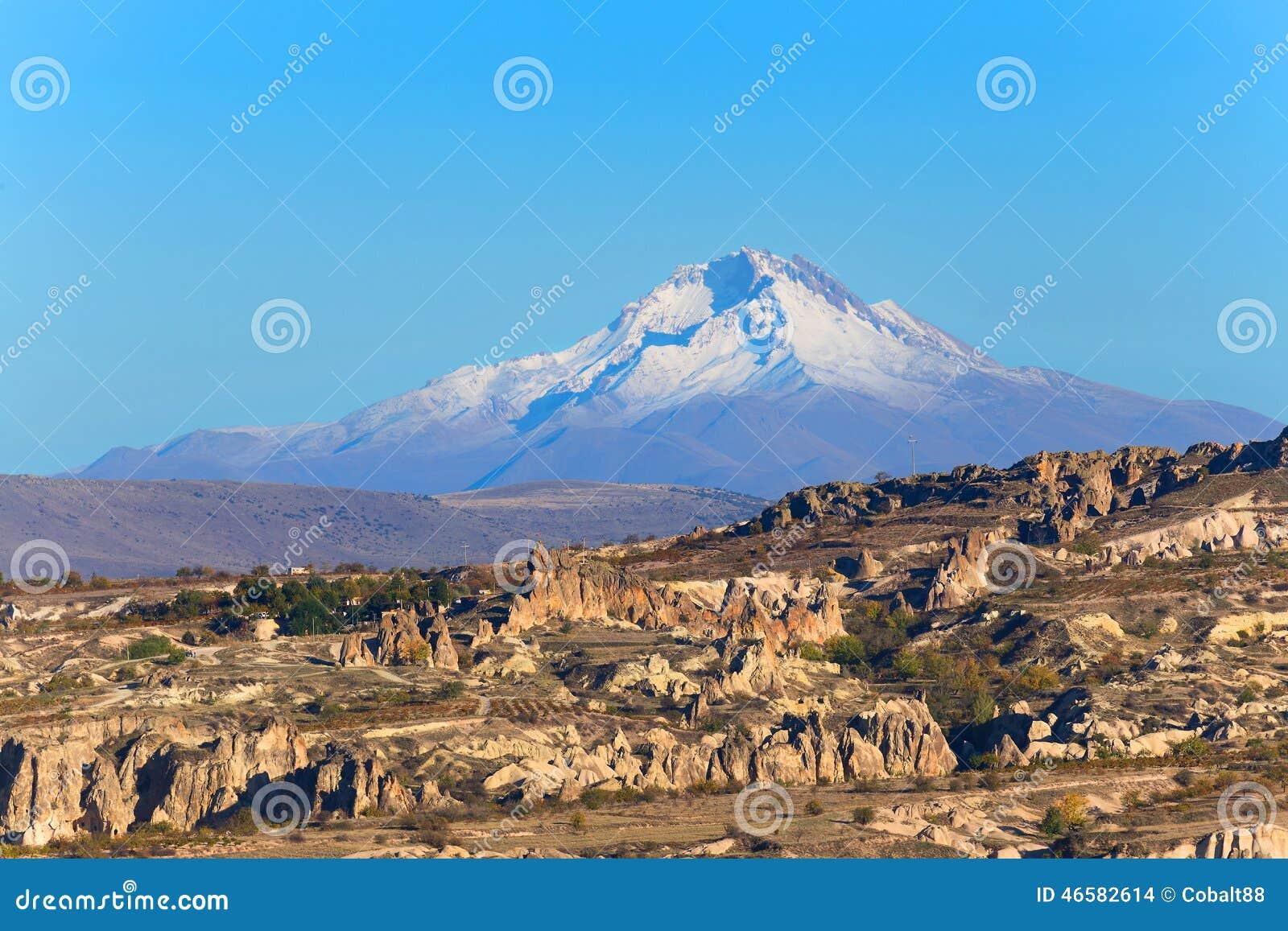 Paesaggio di Cappadocia