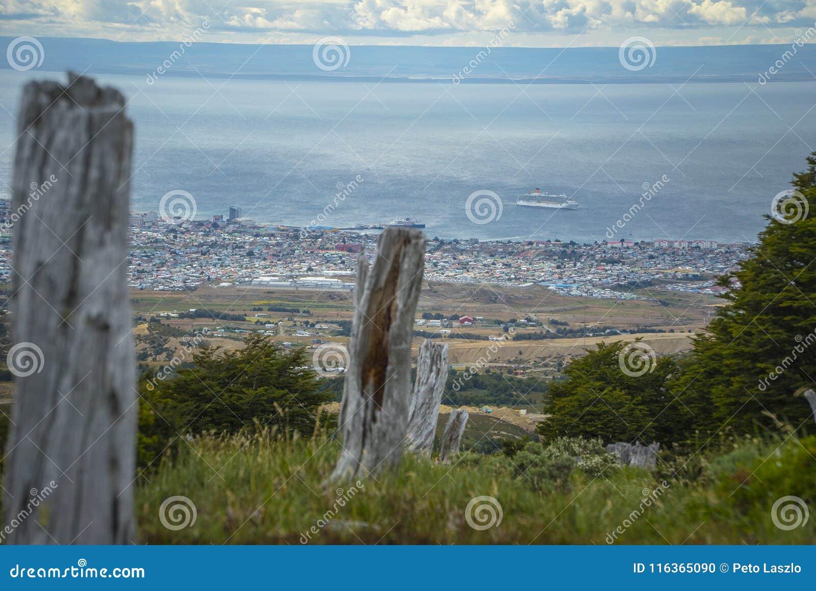 Paesaggio di Puerto Chacabuco