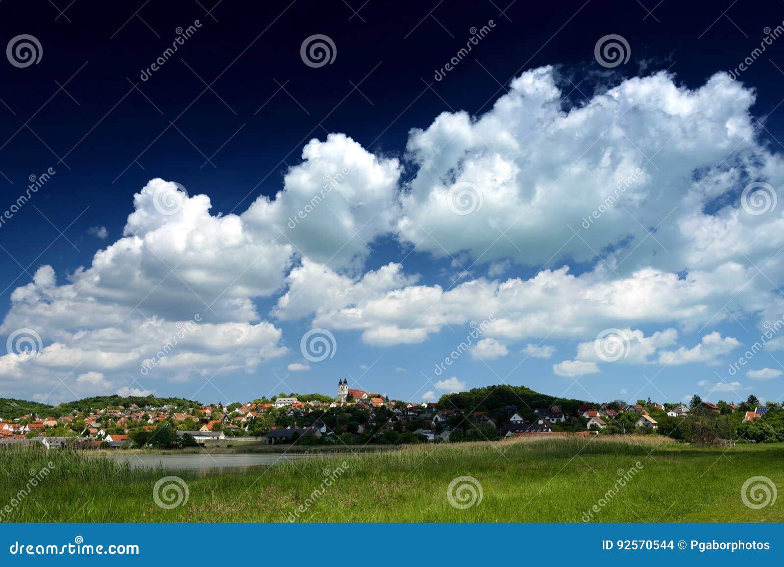 Paesaggio di Tihany al Balaton