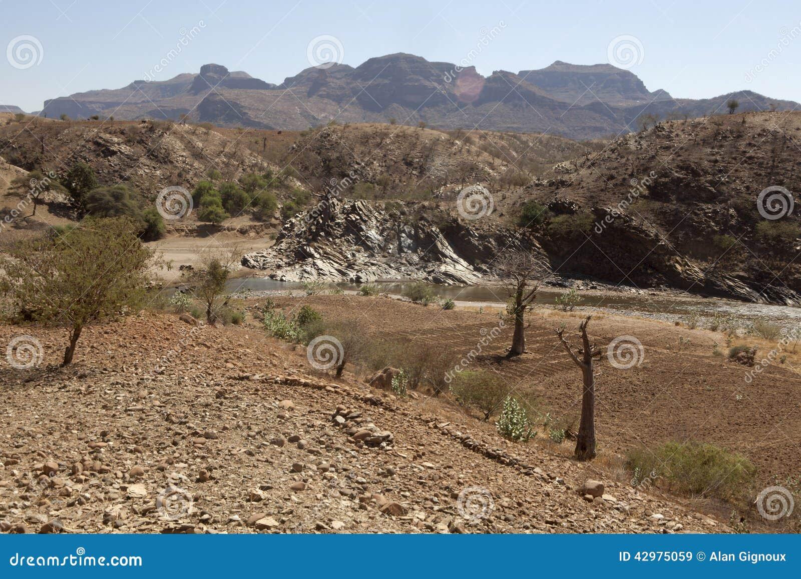 Paesaggio etiopico