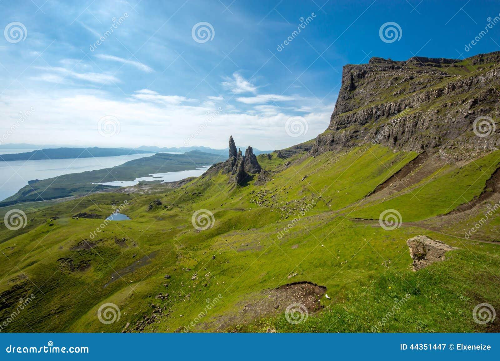 Paesaggio sull isola di Skye
