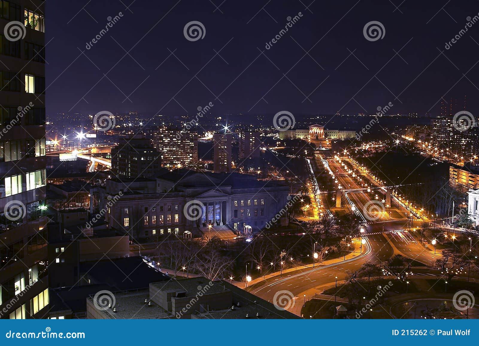 Paesaggio urbano della città del centro
