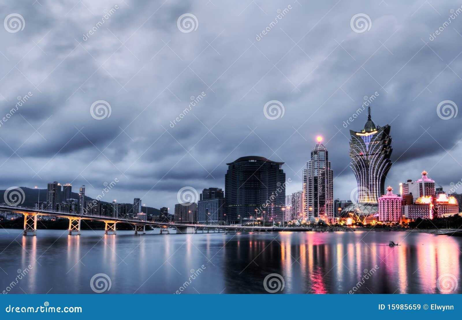 Paesaggio urbano della Macao