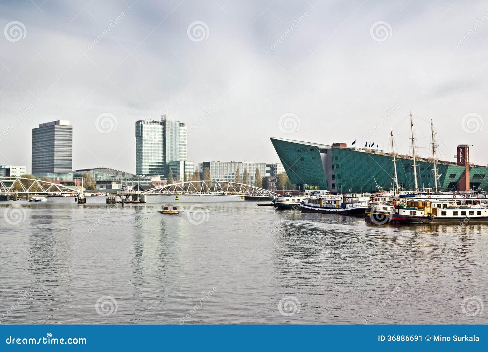 Download Paesaggio Urbano Di Amsterdam Fotografia Editoriale - Immagine di storia, netherlands: 36886691