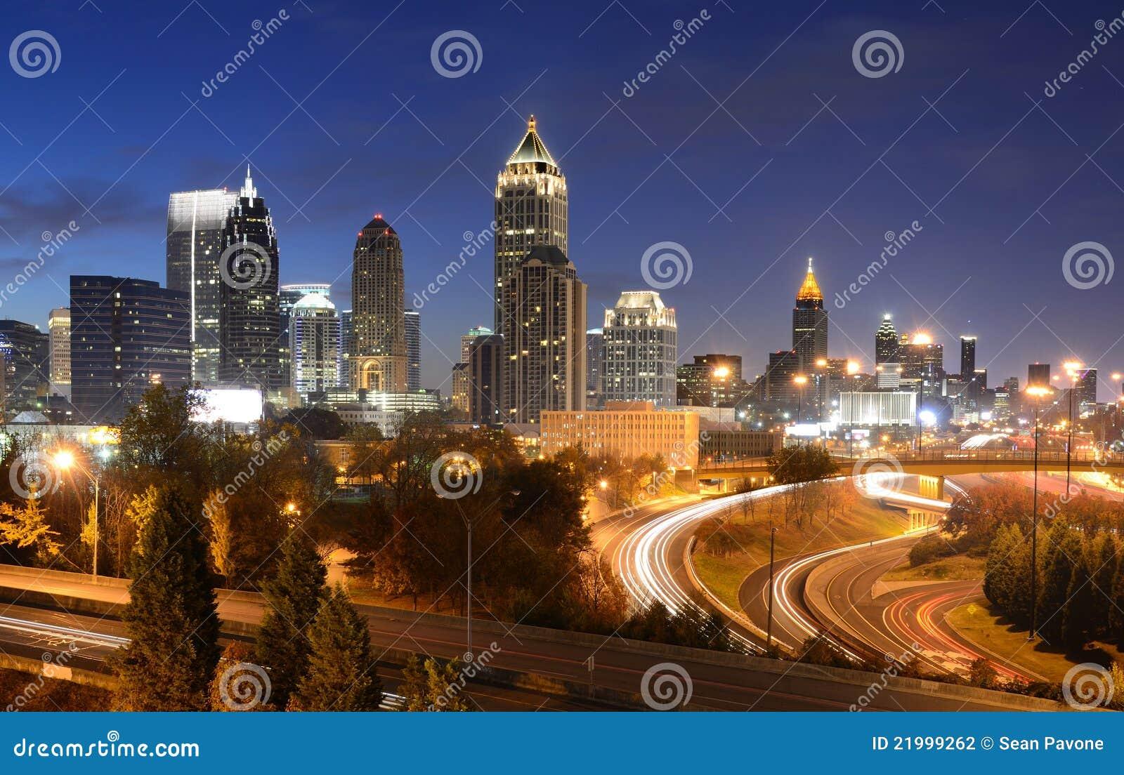 Paesaggio urbano di Atlanta Georgia