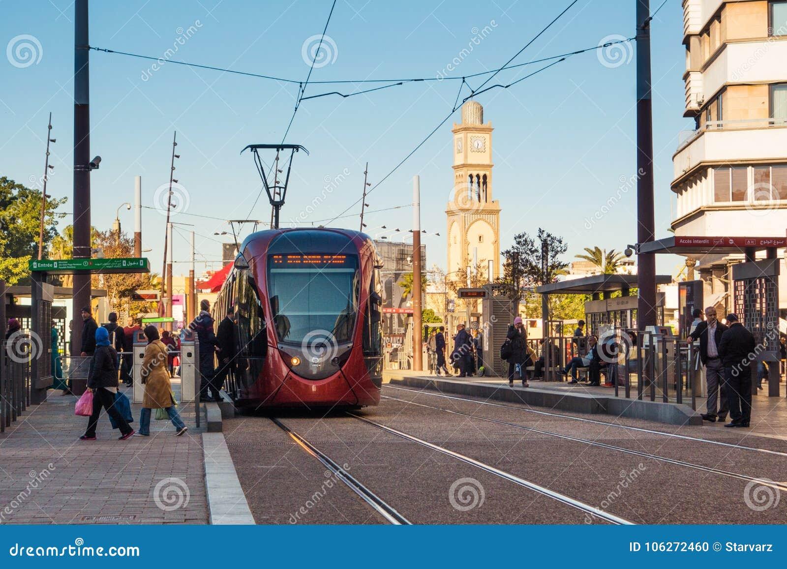 Paesaggio urbano di Casablanca - il Marocco
