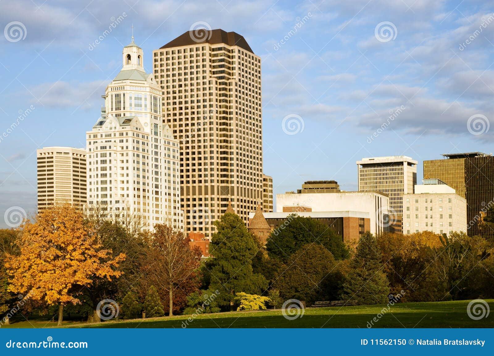 Paesaggio urbano di Hartford
