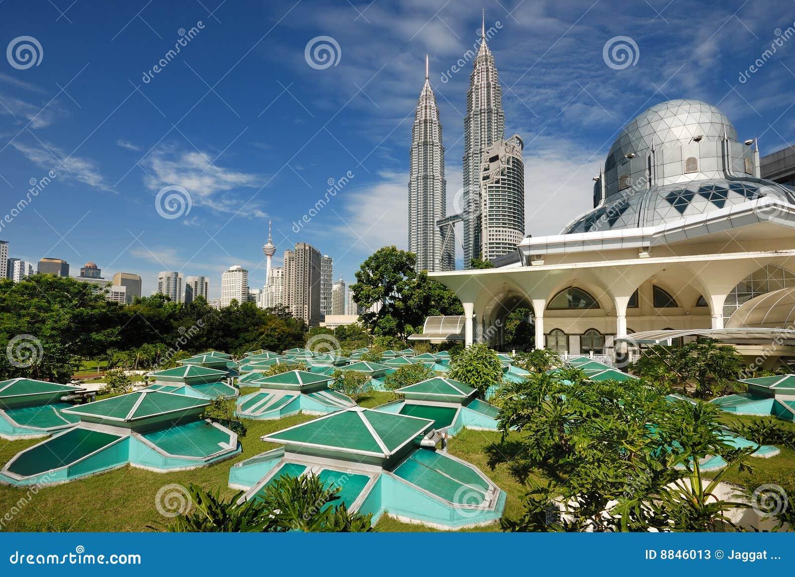 Paesaggio urbano di Kuala Lumpur