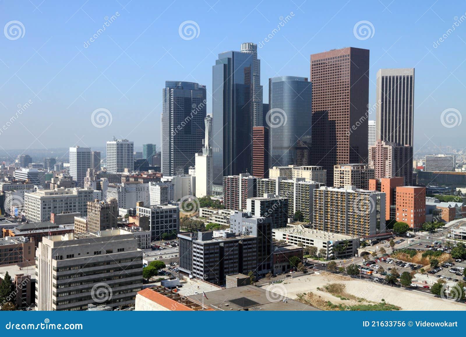 Paesaggio urbano di Los Angeles