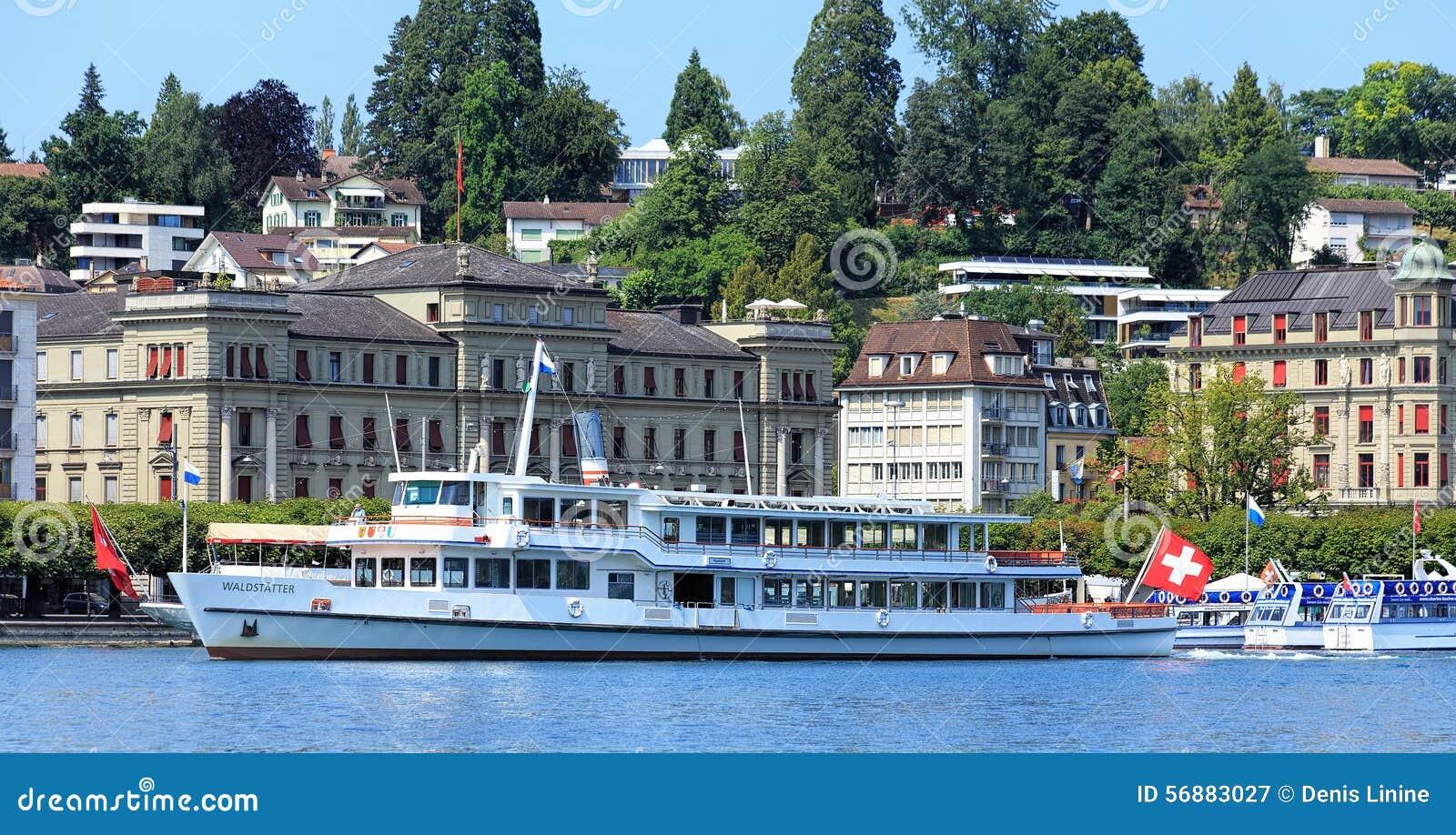 Paesaggio urbano di Lucerna